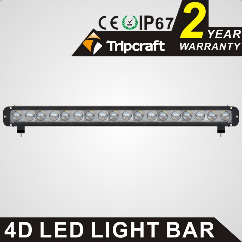 High power 4D 180w led work light bar single row 29.3inch car lamp for offroad 4x4 truck ATV SUV 4WD Combo beam driving fog lamp tripcraft 72w led work light bar quad row spot flood combo beam car driving lamp for offroad 4x4 truck atv suv fog lamp 6 75inch