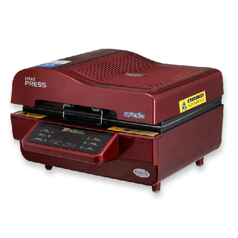 Heißer verkauf 3D Sublimation Transferpresse Drucker 3d vakuum wärmepresse Drucker Maschine Druck für Fällen Tassen Teller Gläser - 4
