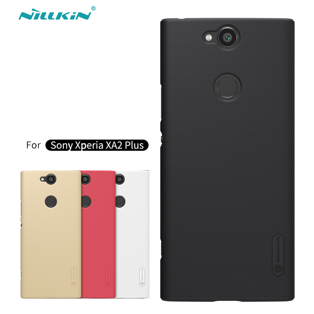sFor Sony Xperia XA2 Plus Case Nillkin Frosted Shield Hard Back Cover Matte Case For Sony Xperia XA2 Plus PC Bumper Gift HoldersFor Sony Xperia XA2 Plus Case Nillkin Frosted Shield Hard Back Cover Matte Case For Sony Xperia XA2 Plus PC Bumper Gift Holder