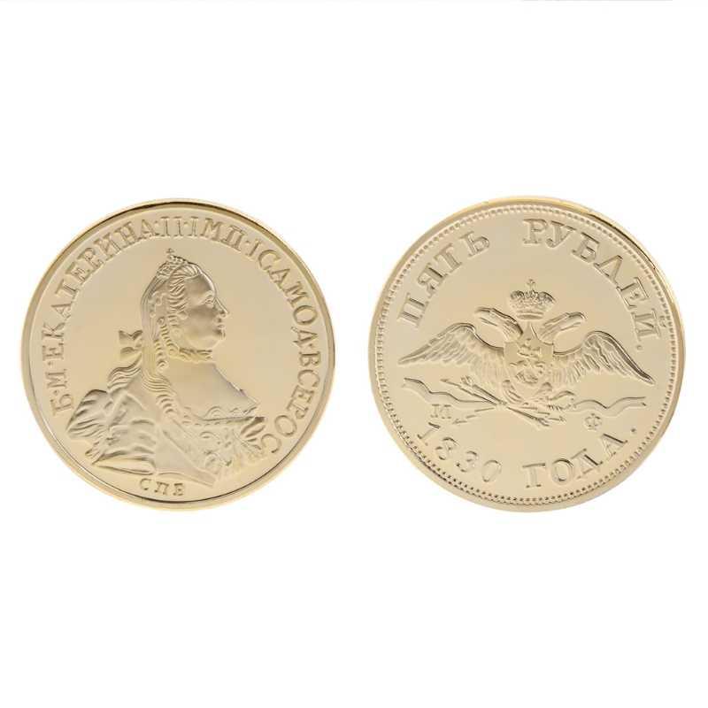 Herdenkingsmunt Russische Vogel Menselijk Art Collection Gift Bitcoin Legering Souvenir Russische Enkele Vogel Non Valuta Coin
