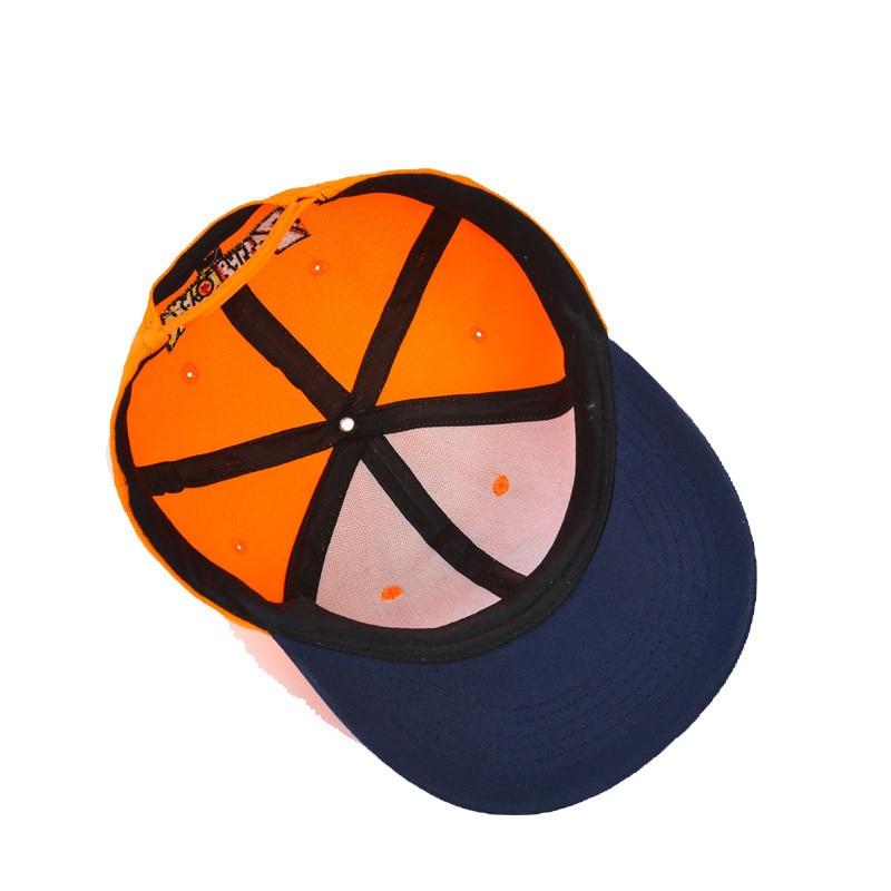 Dragon ball Cosplay High Quality Dragon ball Z Goku Hat Snapback Flat Hip Hop caps Toy For Kids Birthday Gift (5)
