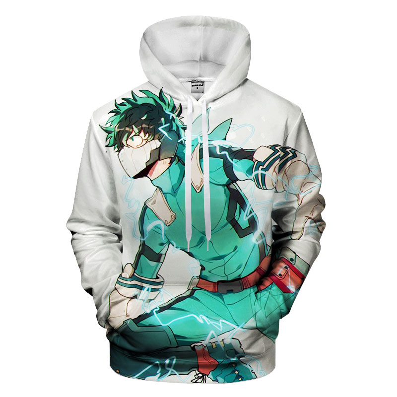 3D My Hero Academia Hoodie Unisex Sweatshirts