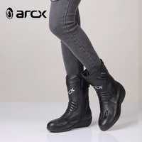 Riding Tribe Motorcycle Boots ARCX Biker SPEED Motocross shoes Motorcycle boots really leather lady boot 36 37 38 39 L60608