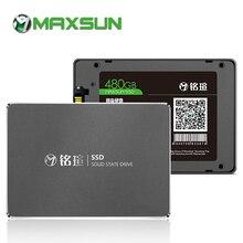 Dyski półprzewodnikowe MAXSUN SSD 480gb 2.5 cala SATA III ciągły odczyt do 490 MB/S SATA 6 Gb/s na komputer stacjonarny laptop