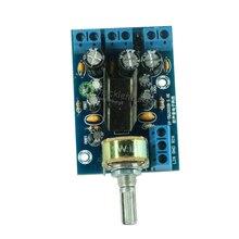TEA2025B 2.0 ستيريو مزدوجة القناة البسيطة مضخم الصوت للكمبيوتر رئيس 3 W + 3 W 5V 9V 12V سيارة