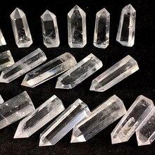 1000g Natural clear white quartz crystal point wand&obelisk reiki healing energy gemstone for home Wedding decora цена