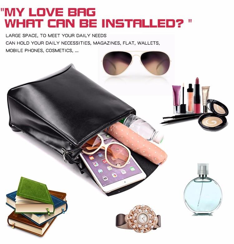 Fashion Women Backpack High Quality Youth Leather Backpacks for Teenage Girls Female School Shoulder Bag Bagpack mochila