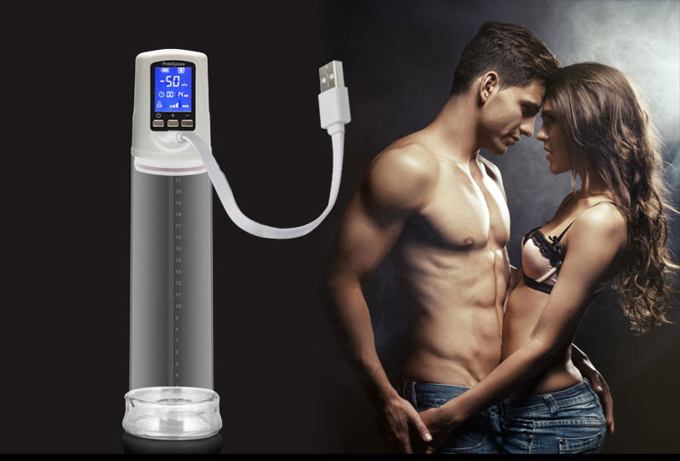Penis Pump with USB Rechargeable,LED Automatic Penis Enlarger Male Enhancement , Electric pro extender Penis Enlargement 2