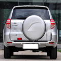 3Color Black,White,Silver High quality ABS Spare Tire Cover Plastic Spare Tire Cover Fit For 09-12 Toyota Rav4 RAV4 Toyota RAV4