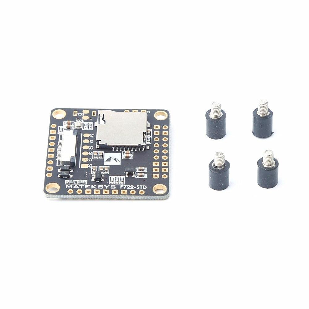 Matek sistemas F722 STD STM32F722 F7 controlador de vuelo incorporado OSD BMP280 barómetro Blackbox para RC Drone-in Partes y accesorios from Juguetes y pasatiempos on AliExpress - 11.11_Double 11_Singles' Day 1