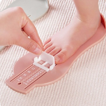 Kids Infant Foot Measure Gauge Shoes Size Measuring Ruler Tool Toddler Infant Shoes Fittings Gauge Baby Children Foot Ruler