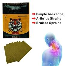 8 adet/torba kaplan balsamı ağrı yama çin tıbbi sıva omuz kas artrit eklem ağrısı giderici çıkartmalar C336