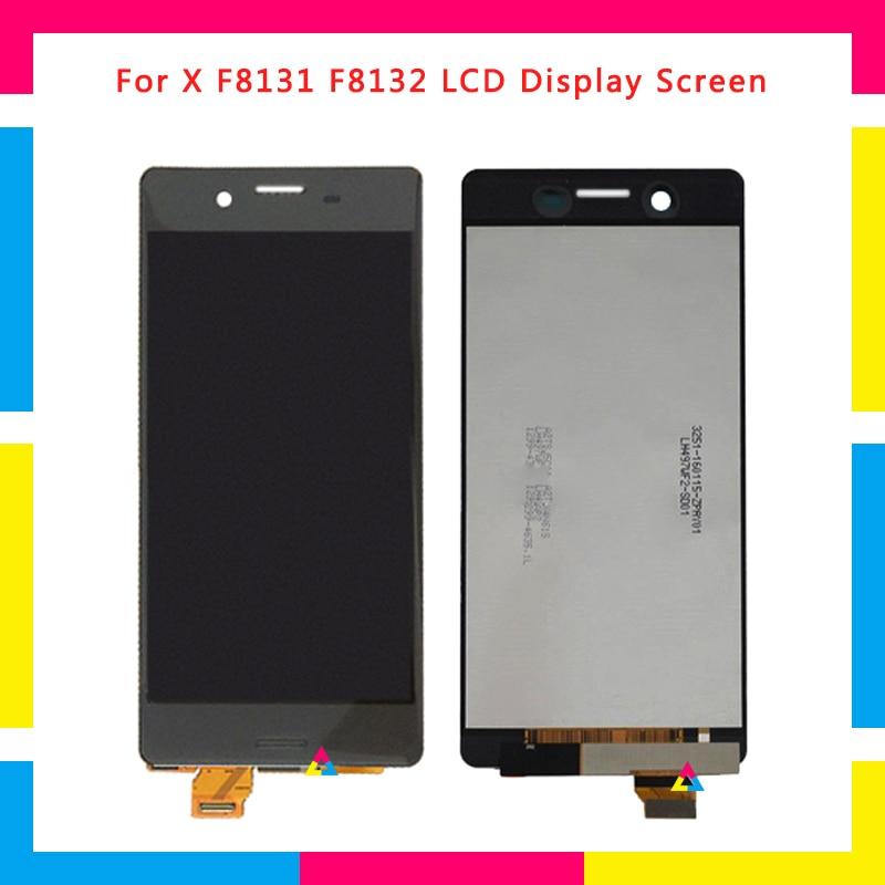 Écran LCD Avec Écran Tactile Digitizer Assemblée Pour Sony Xperia X Performance F8131 F8132 Remplacement