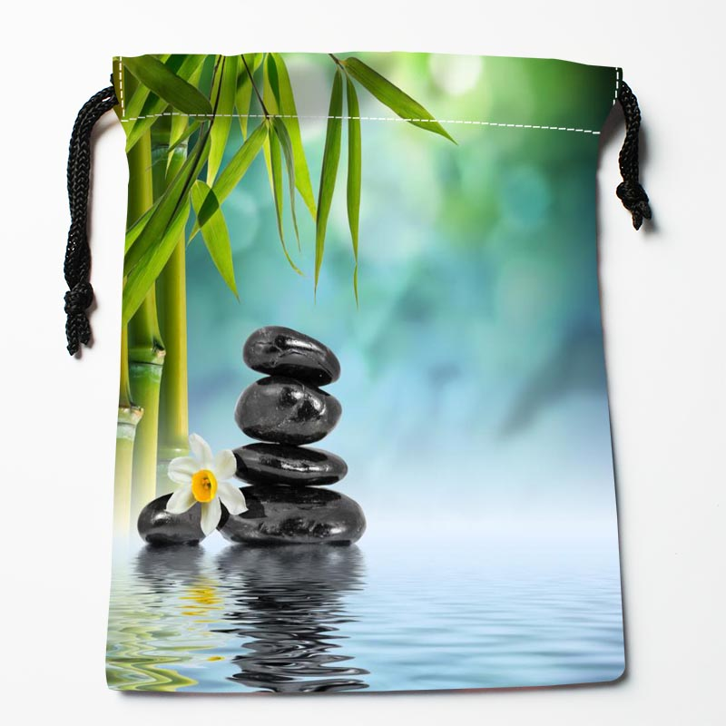 New Arrive Stone Drawstring Bags Custom Storage Bags Storage Printed Gift Bags More Size 27x35cm DIY Your Picture