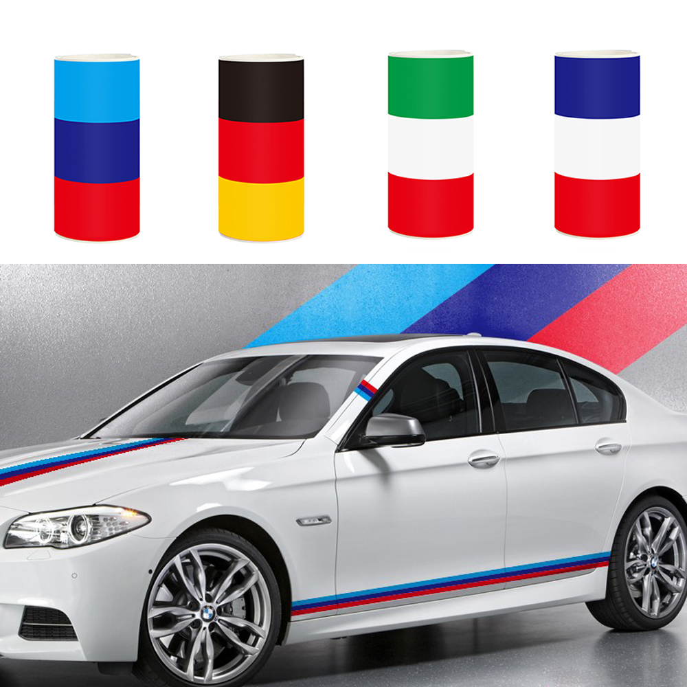 Car Sticker Full Body National Flag Auto Stickers And Decals Whole Front Door Window 3D Vinyl Funny Car-styling For BMW VW car styling uchiha sasuke naruto door stickers japanese anime vinyl sticker decals auto body racing decal acgn car film paint