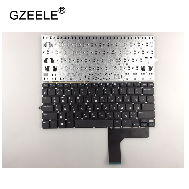 GZEELE Russian Keyboard for Dell for Inspiron 11 3000 3147 3148 P20T RU black laptop keyboard