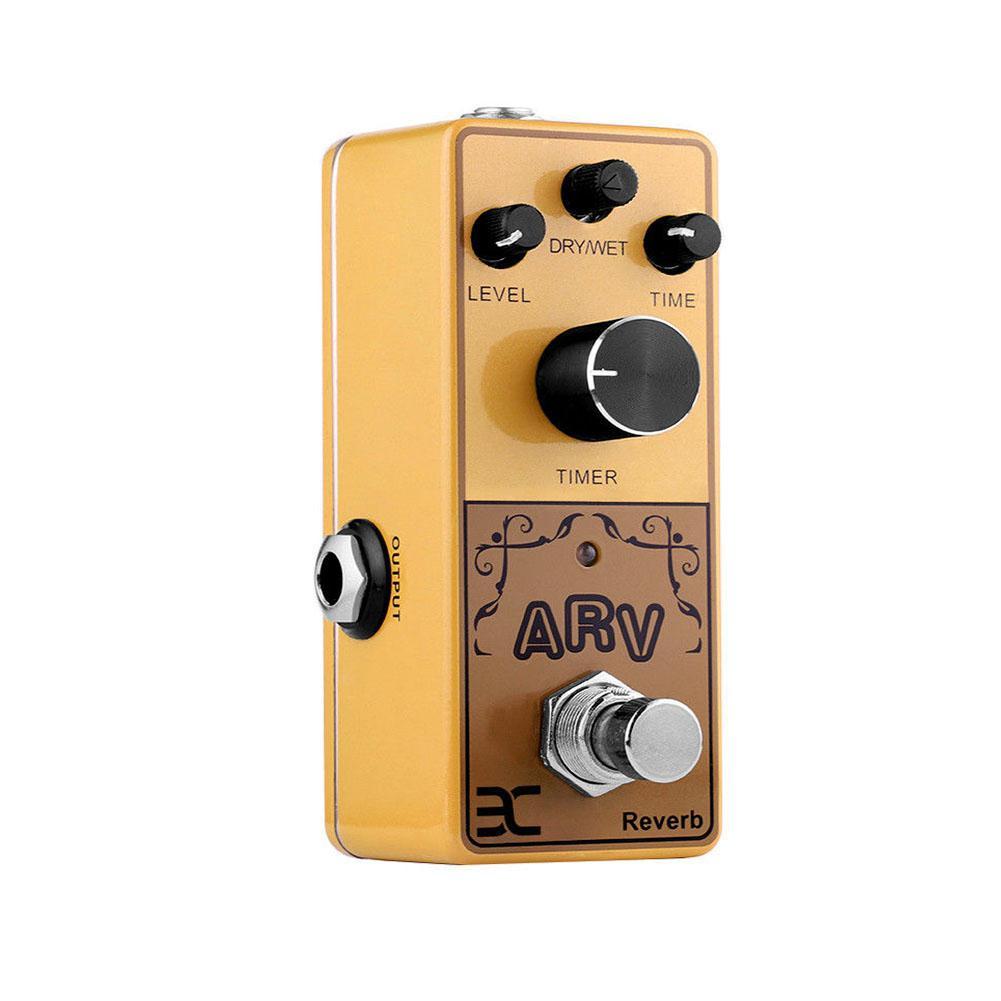 ARV AAD effets de guitare acoustique Preamp Reverb effets de retard de pédale simulateur de modélisation retard Reverb Mini effets accessoire de guitare