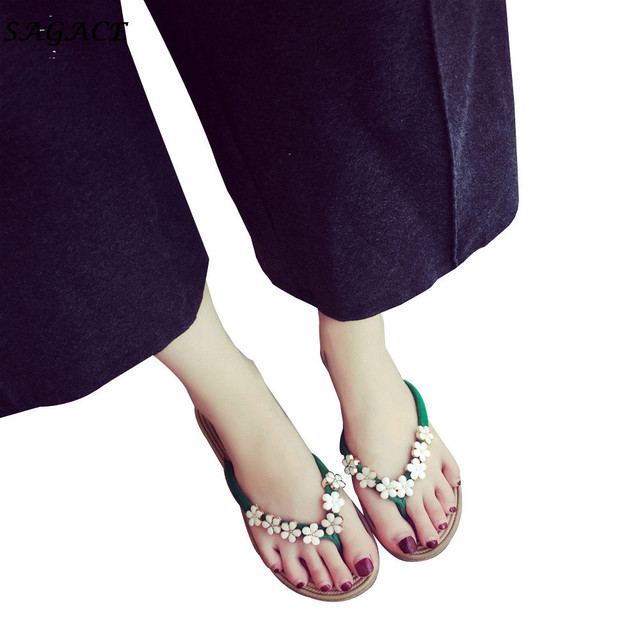 ea7046ddae96 SAGACE 2018 Designer Women Hot Sale Sandals Roman Sandal Summer Shoes  Slipper Fashion Colorful Beach Flat