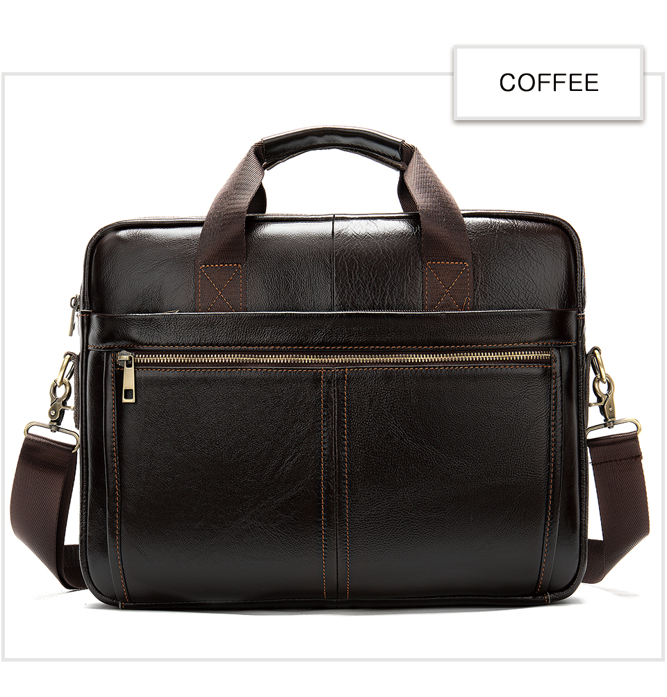 HTB1RUkuUbrpK1RjSZTEq6AWAVXaT MVA men's briefcase/genuine Leather messenger bag men leather/business laptop office bags for men briefcases men's bags 8572