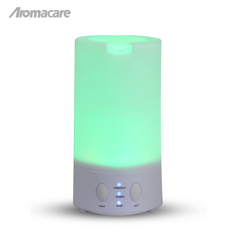 Ultrasonic Aromatherapy Humidifier Essential Oil Diffuser Air Purifier for Home Mist Maker Aroma Diffuser Fogger LED Light 100ML ultrasonic aroma diffuser portable air humidifier for home aromatherapy essential oil diffuser led mist maker fogger purifier
