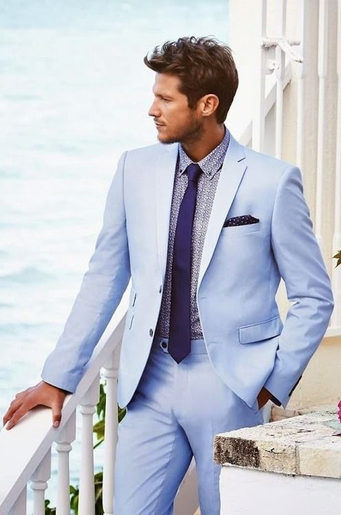 Compare Prices on Light Blue Suits for Men- Online Shopping/Buy ...