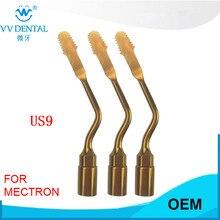 3 pces us9, ponta da cirurgia piezo dental para a máquina do piezosurgery de mectron