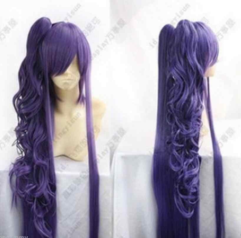 Peluca Vocaloid Gackpoid Miku Gakupo oscuro púrpura Cosplay peluca envío gratis