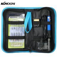 KKmoon 60W 37PCS 2 in 1 Adjustable Temperature Welding Soldering Iron Wood Burning Pen Kit Soldering Iron Pen Tools