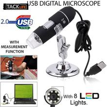 Mega Pixels 1000X  8 LED 2MP Digital USB Microscope Microscopio Magnifier Electronic Stereo USB Endoscope Camera цена в Москве и Питере
