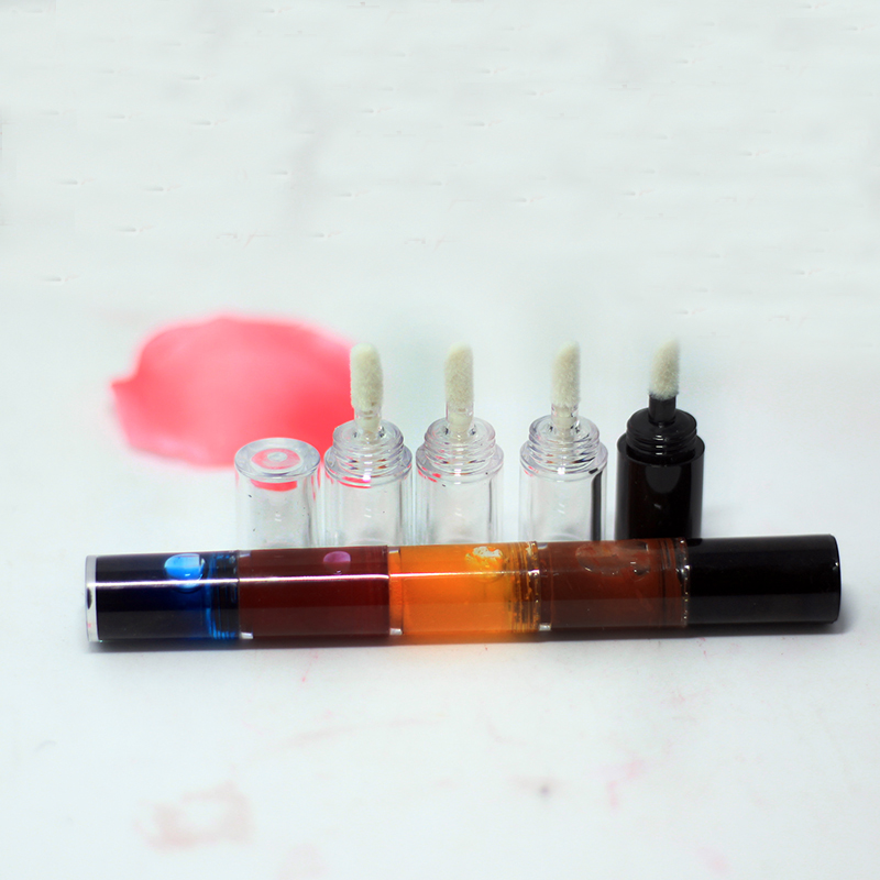 10/20/50PCS Empty 4 color 1.5ml Lip Gloss Tube DIY Polychromatic Labial Glaze Cosmetic Makeup Lip Balm Vial Refillable Container armand dupree color naturals lapiz labial lipstick palo de rosa zt3