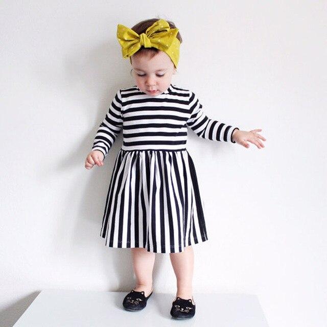 Mädchen kleid streifen kleid kinder kleider designs 2017 Frühling ...