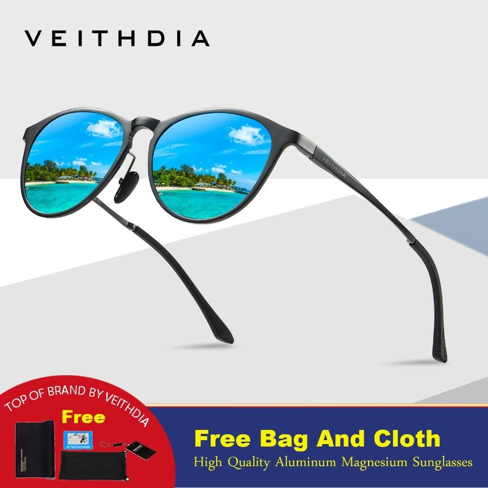 f0a3daee2 ... Retro óculos de Lente Polarizada Óculos De Sol do Espelho Do Vintage  Óculos de Condução de Alumínio E Magnésio Óculos de Sol Dos Homens/Mulheres  6625