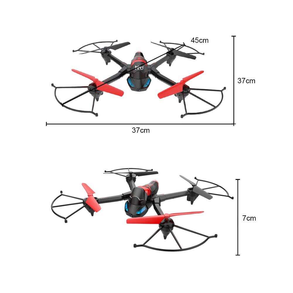 quadcopter zangão rc tanque de salto stunter rc stunter