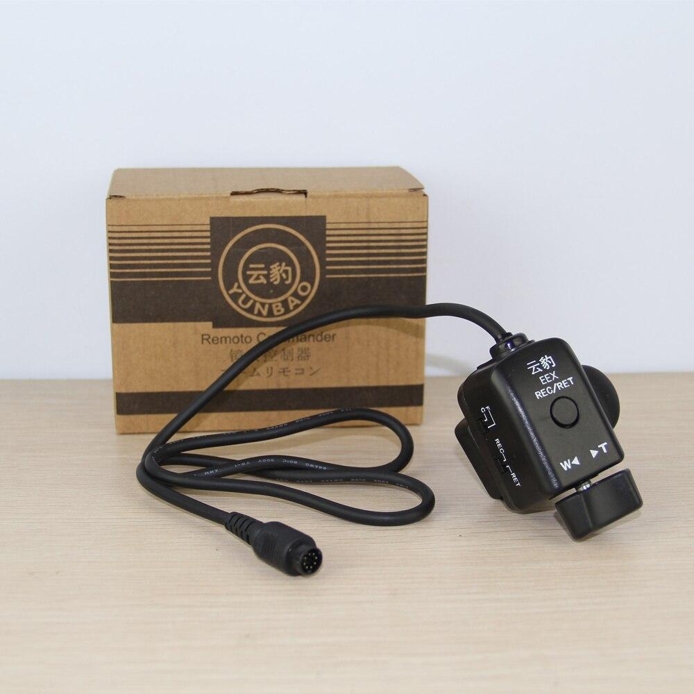 Fonte da fábrica de 8 Pinos câmera grua jimmy EEX zoom auto-foco da câmera controle remoto para EX1E EX3 EX280 EX260 EX330K