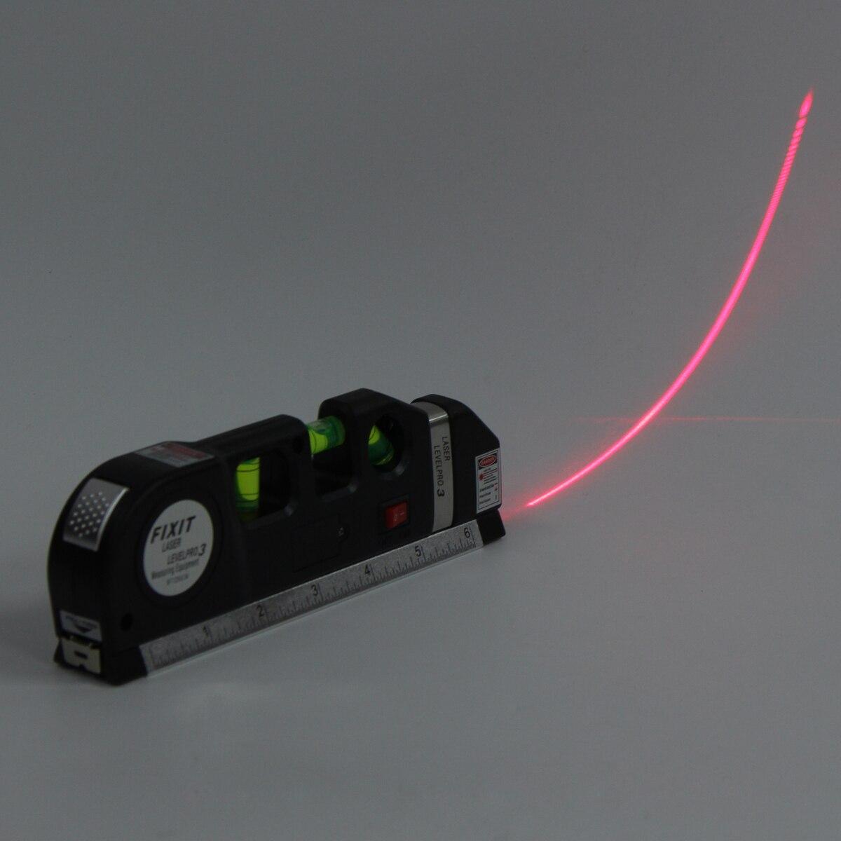 espírito lasers régua horizontal linha medida ferramentas padrão ajustado