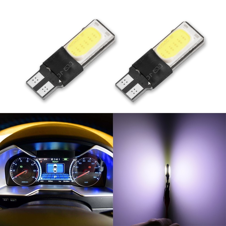 1 Piece T10 LED 194 168 W5W Car Xenon Auto Led W5w T10 Led COB Interior Bulb Light Parking Backup Brake Lamps Canbus No Error 2 x t10 led canbus w5w 194 interior xenon white led canbus no obc error t10 10smd 5630 5730 with lens projector aluminum
