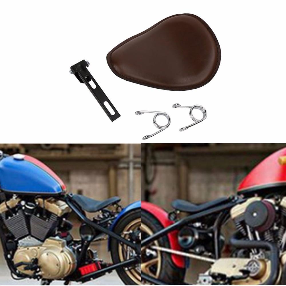 "Motorcycle Solo Seat 3/"" Spring Bracket For Harley Chopper Bobber Honda Yamaha"