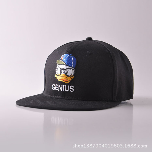 a663efd9ba6 New Product Of The Tide Cap Gate Spring Summer Cartoon Donald Duck Baseball  Hat Men And Women Peaked Cap Sunshade Hip Hop Hats