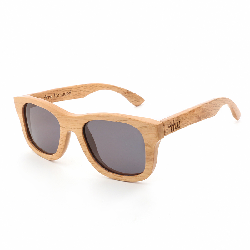 2019 Women Men Wood Bamboo Sunglasses Polarized Lens Retro Vintage Brand Designer
