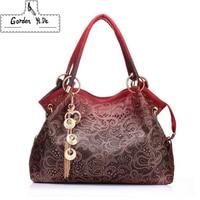 Gorden Yi De Brand 2018 Women Messenger Bags Beautiful Women Handbag Fashion Printing Flowers Bag Sweet