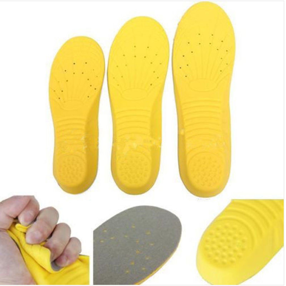 1pair Memory Foam Orthotic Arch Insert Insoles Shoe Pads Cushion Sport Suppot for Men Women Foot Care Tool M size