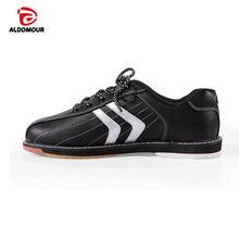 ALDOMOUR обувь для боулинга брендов 2017 отечественного экспорта высокого качества унисекс Боулинг обувь с skidproof Подошва кроссовки Хомбре