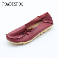 C H 2017 New Women S Genuine Leathers Shoes Cow Leather Casual Fashion Shoes Soft
