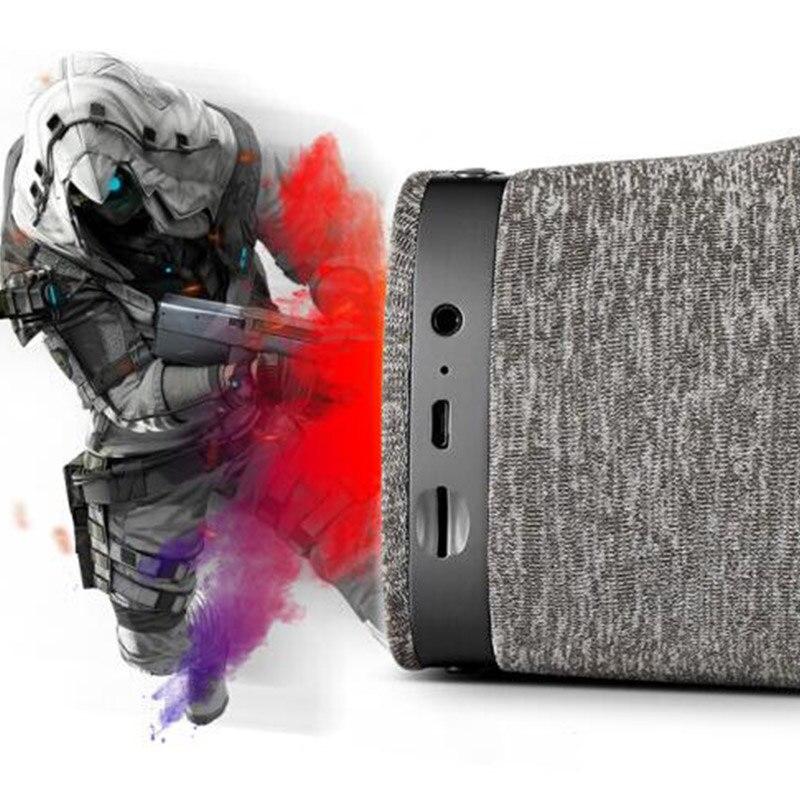 LEORY 5.5 Inch Doek VR Bril bluetooth Licht Ademend Hardware Acceleratie VR 3D Bril Met USB TF Card WiFi 4 KOutput - 2
