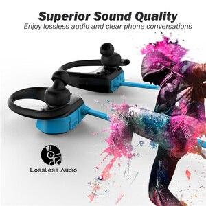 Image 4 - RALYIN M2 Bluetooth ספורט אוזניות MP3 נגן Lossless אוזניות מובנה 8GB זיכרון עם אוזן וו מיקרופון IPX6 עמיד למים אוזניות