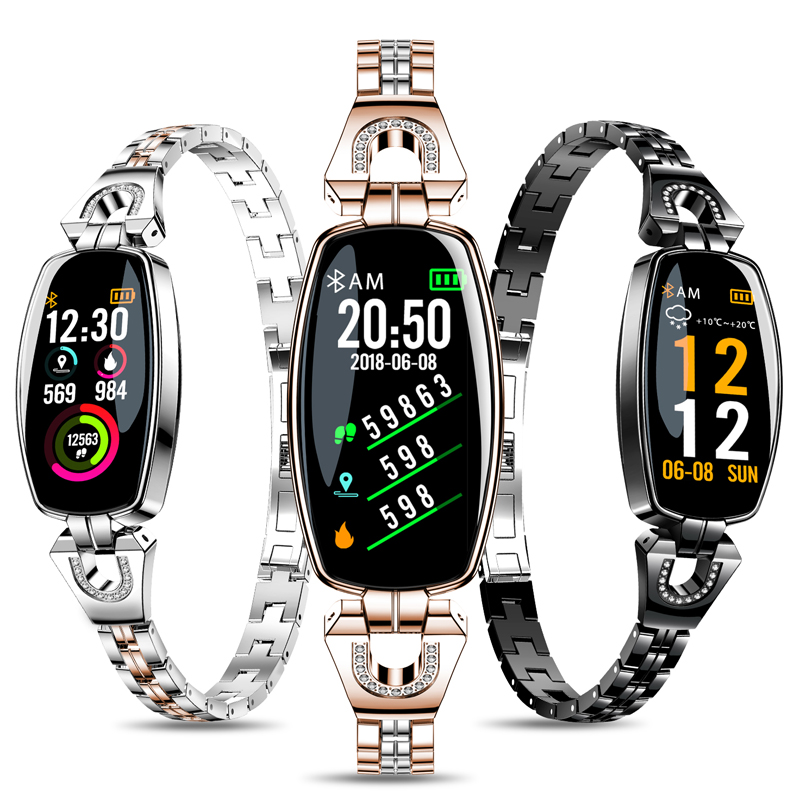 BINGER New Fashion Smart Watch For Women Heart Rate Activity Step Counter Calorie SmartWatch For Android 4 4 amp IOS 8 0 BG8 2 in Women 39 s Watches from Watches