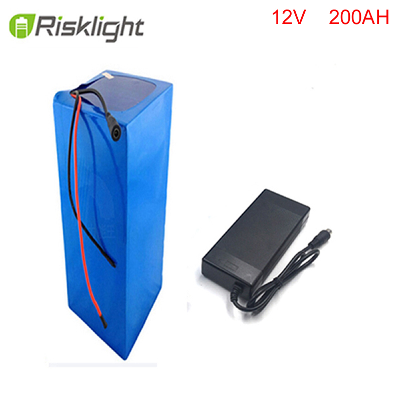 Factory Outlet DIY 12V 300W electric scooter battery 12v 200ah lithium ion battery  with bms  and 5A fast charger free customs taxes super power 1000w 48v li ion battery pack with 30a bms 48v 15ah lithium battery pack for panasonic cell