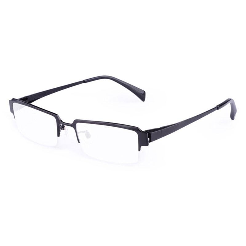 High Quality Business Titanium Men Eyeglasses Frame Prescription Glasses Optical Eyewear for Men Spectacles Frames itaoe model 404 high quality acetate men optical prescription glasses eyewear frames spectacles 141mm