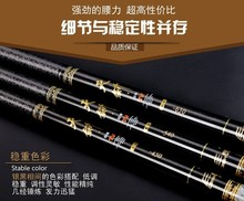 Buy online Super hard Telescopic rod Sport and athletics fishing rod authentic carbon Taiwan fishing rod fishing tackle fishing supplies
