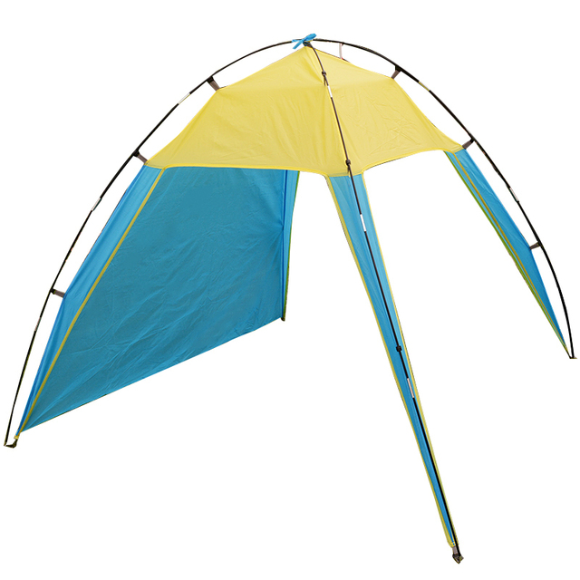 Portable Outdoor Sun Shelter Beach Tent Summer Anti-UV Fishing Tent 200x200x150cm Camping Roof Tent 1.1 Kg Approxi.
